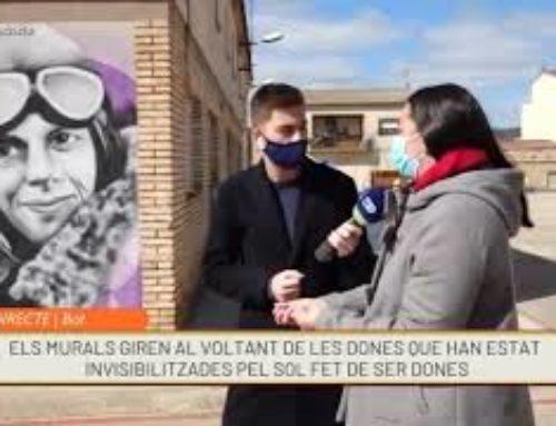 Les escoles de la Terra Alta dediquen 12 murals a les dones