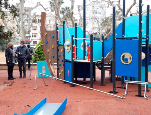 En marxa la renovació del parc infantil i l'habilitació d'un nou espai de lleure al parc Teodor González