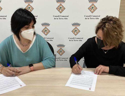 El Consell Comarcal signa un acord amb l'Associació de Turisme Rural de la Terra Alta per realitzar accions conjuntes de promoció turística