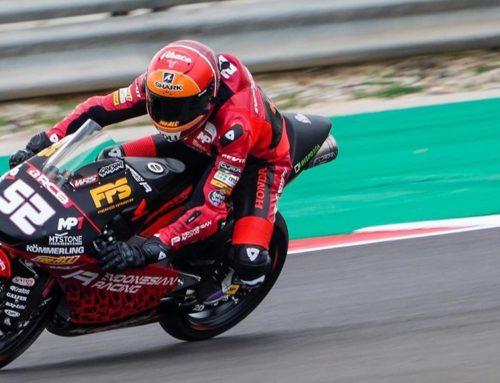 Alcoba puntua per primer cop al mundial de Moto3
