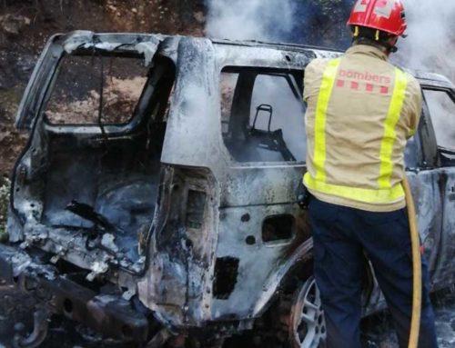 Extingit un incendi a Paüls que ha mobilitzat a deu dotacions dels Bombers