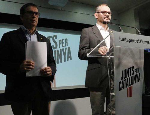Josep Costa creu que Cuevillas no hauria de ser a la Mesa del Parlament si no vol assumir el risc de ser inhabilitat