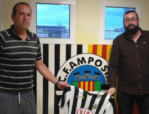Fernando Garcia nou entrenador del primer equip del CF Amposta