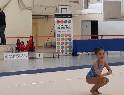La primera jornada de gimnàstica rítmica dels jocs esportius de les Terres de l'Ebre es podrà seguir en directe per streaming