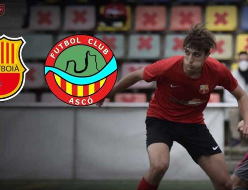 El FC Santboià-FC Ascó de diumenge, en directe per la FCF TV