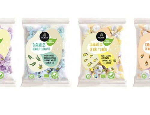 Muria BIO llança els primers caramels de mel ecològica d'Europa amb envàs 100% compostable