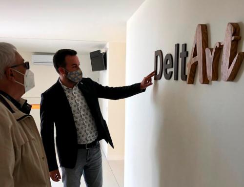 D'Arrels Enfora serà la primera exposició de DeltArt, l'Espai Expositiu de Deltebre que obrirà les seves  portes aquest dissabte