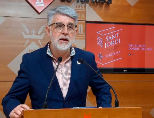 Tortosa avança la festivitat de Sant Jordi amb una vintena d'actes i presentacions de llibres durant els dies previs