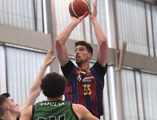 Jaume Sorolla a un pas de pujar a LEB Or amb el Barça B