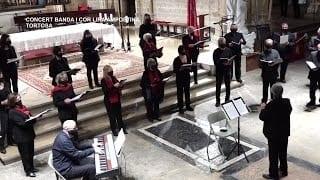 Concert de la Banda i Cor de la Lira Ampostina a Tortosa