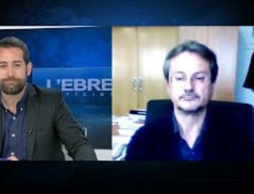 L'Ebre Noticies. Entrevista amb Antoni Espanya, Cap Provincial de Costes.