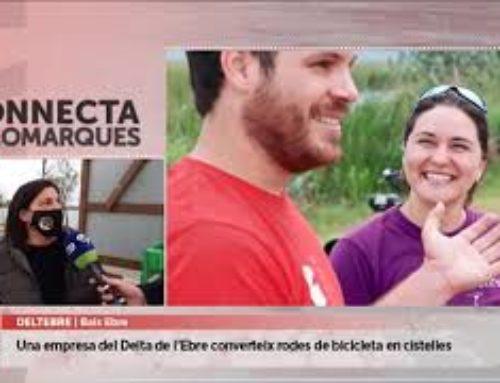 De roda punxada a cistelles per bicicletes: la iniciativa sostenible d'una empresa de Deltebre