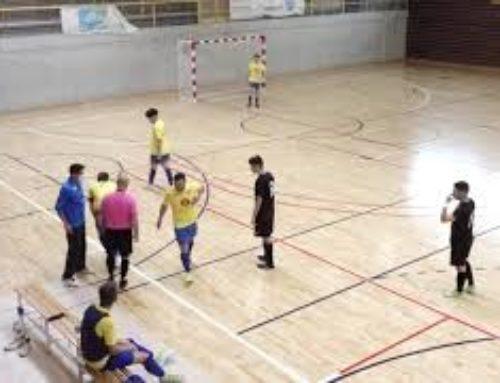 Partit de lliga (j.8) de Divisió d'Honor de futbol sala entre el FS Amposta i el CFS Salou 'B'