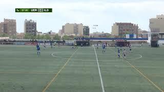 Partit de lliga j 9 de 1a catalana entre la UE Rapitenca i la UE Sant Ildefons (6-0) partit íntegre