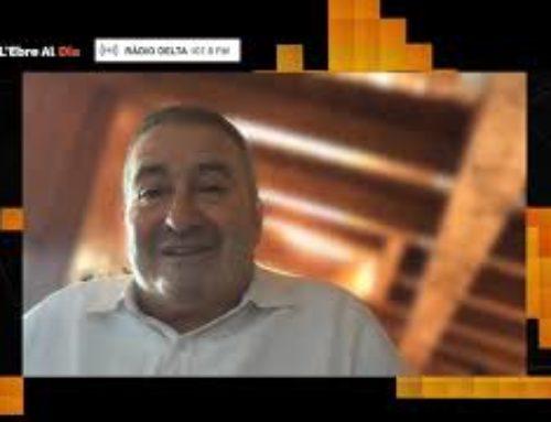 L'Ebre al Dia. Entrevista a Xavier Pallarés, delegat del Govern a les Terres de l'Ebre