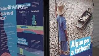 Exposició AGBAR a l'Escola Marjal de les Cases Alcanar