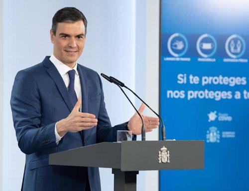 """Sánchez diu que la vacunació bat """"rècord rere rècord"""" i reitera que haurà arribat al 70% de la població a finals d'agost"""