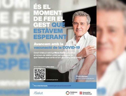 Salut impulsa una campanya per fomentar la vacunació contra la covid-19