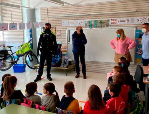 L'Ajuntament de l'Ampolla promou una campanya de seguretat viària a través de la Policia Local a l'escola Mediterrani