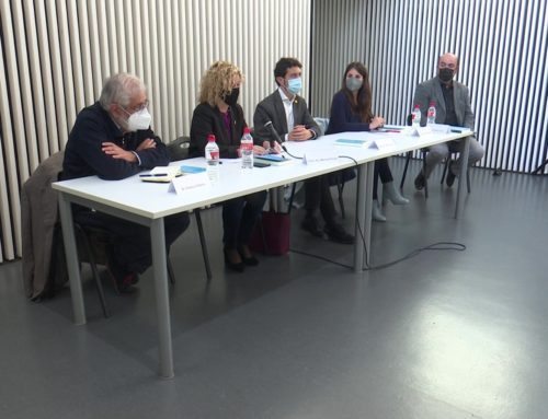 Clam per l'amnistia, en la presentació del llibre de Josep Rull