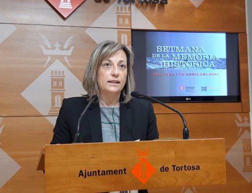 La Setmana de la Memòria Històrica ressegueix la petja dels evacuats que van haver de deixar Tortosa pels bombardejos