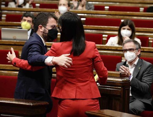 """Aragonès: """"Correspon a la feina que fem a partir d'ara que la victòria de partit esdevingui una victòria de país"""""""