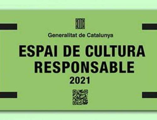 La biblioteca de l'Aldea ha rebut del Departament de Cultura el distintiu com a Espai de Cultura responsable