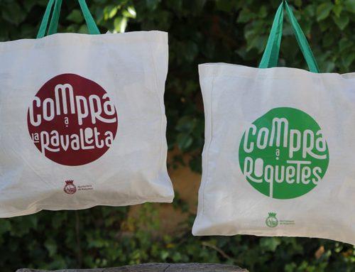Roquetes repartirà 3.000 bosses de compra per promocionar el comerç de la ciutat