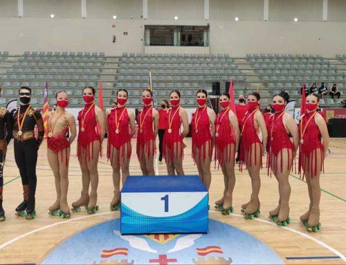 El CP l'Aldea es proclama campió d'Espanya de grups-xou júnior