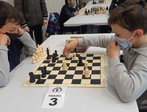 Dissabte 8 de maig comença a Roquetes la lliga territorial d'escacs dels Jocs Esportius Escolars