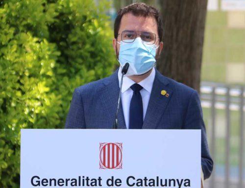 """Aragonès confia que JxCat no """"jugarà amb el temps"""" en la negociació ni amb una possible repetició electoral"""