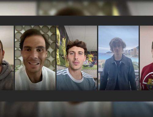 Els germans Gasol, Rafa Nadal, Pau Torres i Andrey Rublev feliciten EUSES Terres de l'Ebre pel seu desè aniversari