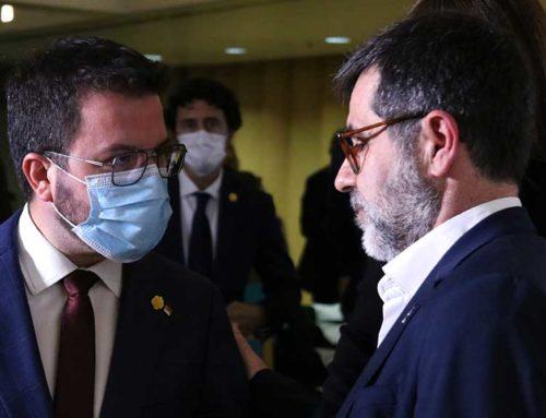 Una nova reunió entre JxCat i ERC amb la presència d'Aragonès acaba sense avenços significatius