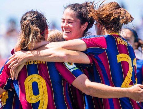 El Barça femení, amb Rafel Navarro de segon entrenador, es proclama campió de lliga