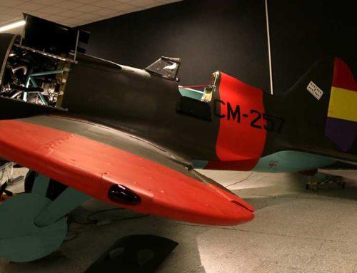 El Centre d'Aviació Històrica de la Sènia cedeix les rèpliques dels avions de la guerra civil per a una mostra al MNAC