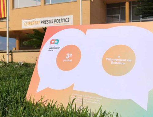 L'AOC atorga el 3r premi a l'Ajuntament de Deltebre com a ajuntament capdavanter en l'administració digital