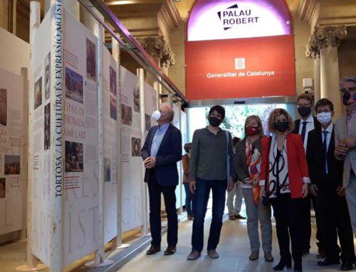 L'exposició de la Capital de la Cultura Catalana de Tortosa inicia a Barcelona la itinerància pel país
