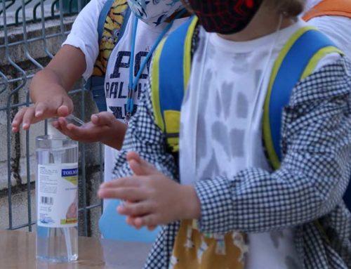 Escolars de les Terres de l'Ebre aprenen i transmeten la importància de la higiene de mans per aturar la pandèmia