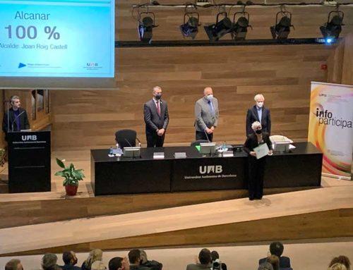 Alcanar: l'únic municipi del Montsià que aconsegueix un 100% del Segell Infoparticipa per tercer any consecutiu