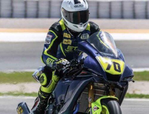 Marc Alcoba desè en la quarta prova del Mundial de Superbikes