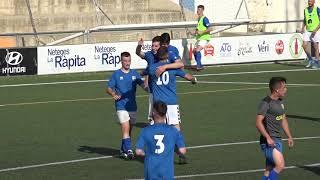 La Rapitenca supera el Santa Bàrbara (5-0)