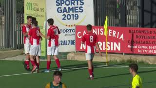 Juvenils: Èpica remuntada de Futbol Formatiu  TE al camp del Tortosa (2-3)