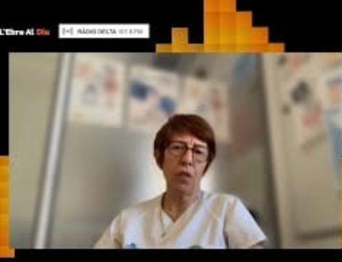 L'Ebre al Dia. Entrevista a Marie Domènech, coord.ª del Grup de Millora d'Higiene de Mans de l'HTVC