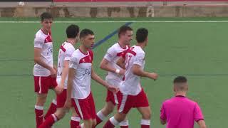 Victòria de l'Ebre Escola contra el Catalònia en un gran partit (2-0)