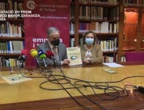 Presentació XIV Premis Federico Mayor Zaragoza a Tortosa