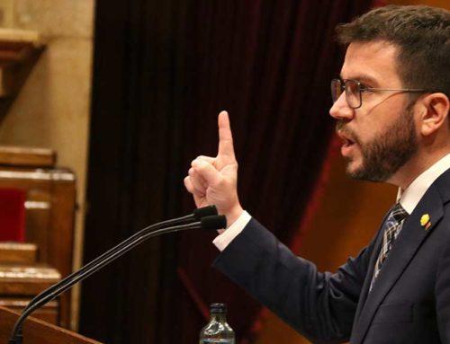 """Aragonès crida a formar Govern """"ja"""" i emplaça JxCat a """"fer honor a la seva paraula"""""""