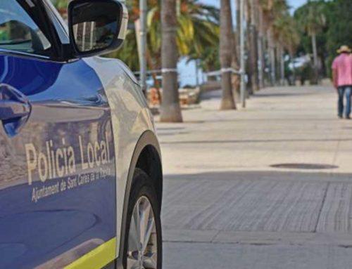 La policia local de la Ràpita engega una campanya informativa sobre la circulació de vehicles al municipi
