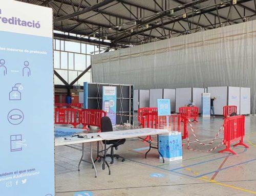 Salut obre a Tortosa el primer punt de vacunació poblacional massiva a l'Ebre