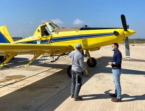 El COPATE fa el primer tractament contra les larves de mosquit al delta de l'Ebre