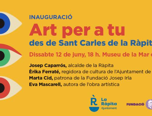 ART PER A TU arriba a Sant Carles de la Ràpita de la mà d'Eva Mascarell